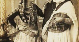 صورة ملابس جزائرية تقليدية , زي بيعبر عن تراث البلد