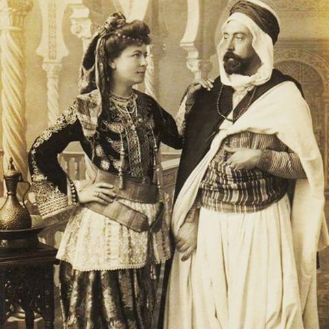 صور ملابس جزائرية تقليدية , زي بيعبر عن تراث البلد