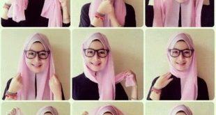 صور طريقة لف الحجاب التركي بالتفصيل , لف الحجاب التركي بطريقة مميزة