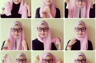 صورة طريقة لف الحجاب التركي بالتفصيل , لف الحجاب التركي بطريقة مميزة