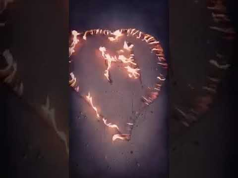 صورة حرف h على شكل قلب , صور حروف باشكال جميله