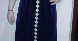 صورة قندورة جزائرية للبيت , افضل ملابس مريحه