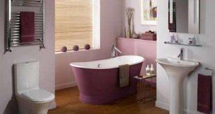 صور ديكورات حمامات حديثه , تصميمات حمامات خشبيه
