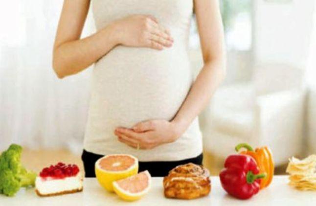 صورة التغذية اثناء الحمل , العناية بطبيعة النظام الغذائي