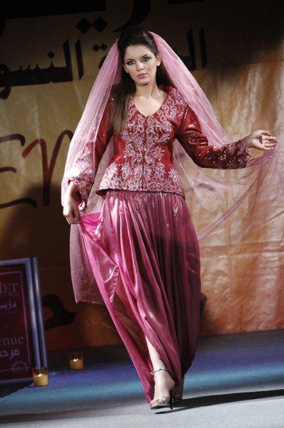 صورة اللباس التقليدي الجزائري , القنادر الجزائرية و روعتها