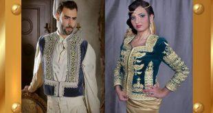 صور اللباس التقليدي الجزائري , القنادر الجزائرية و روعتها