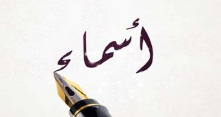 صورة معنى اسم اسماء في اللغة العربية , الحسن والجمال والسمو