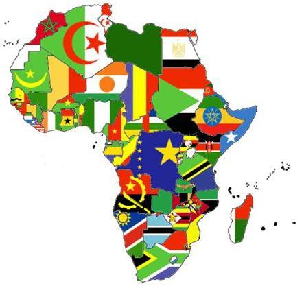 صورة اكبر دول افريقيا مساحة , افريقيا تتكون من اكثر من خمسين دولة