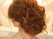 صورة تسريحات كيرلي مرفوع , اجمل تسريحات الشعر
