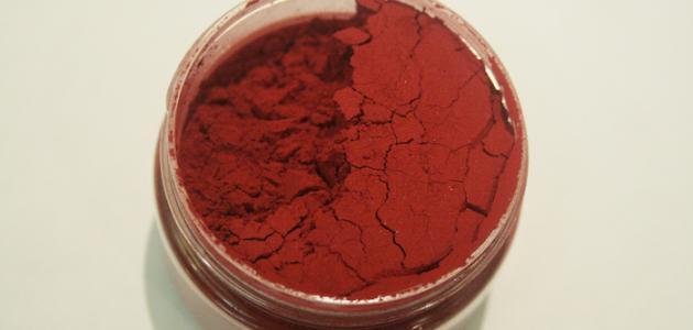 صورة دم الغزال للشفايف , بودرة دم الغزال