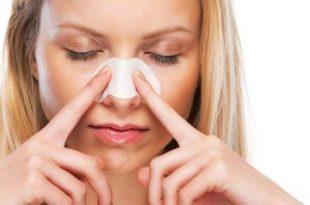 صورة ازالة الرؤوس السوداء من الوجه بالبخار , الحصول علي وجه مشرق ونظيف