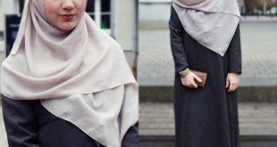 صورة موديلات حجابات جزائرية مخيطة, أحدث موديلات حجابات الجزائر
