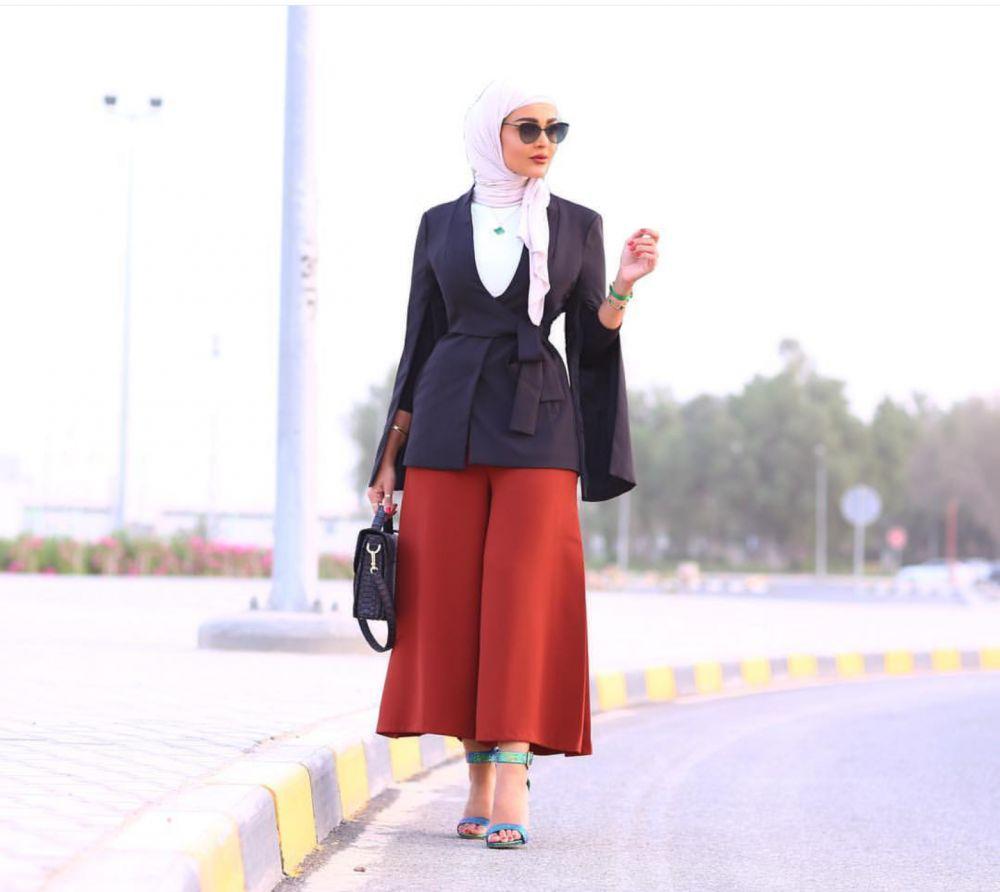 صورة موضة الحجاب, تنسيق الملابس للمحجبات 4296 3