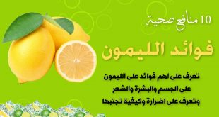 صورة فوائد الليمون , ماهي فوائد الليمون للجسم