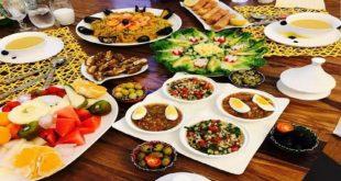 وجبات رمضان, وصفات وطرق عمل وجبات في رمضان