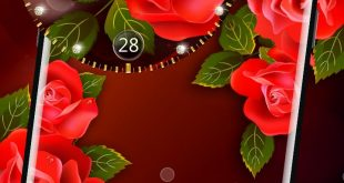 صورة هو فى احلى من الورد , خلفيات ورود متحركة