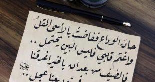 صورة خلاص حبيبى راح , كلمات عن الوداع