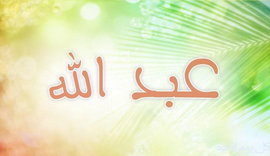 صورة صور اسم عبدالله 289 7
